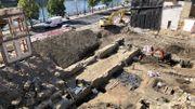 Un entrepôt du 13esiècle découvert à côté du Parlement wallon
