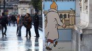 """L'artiste qui plaçait Tintin en """"charmante compagnie"""" attaqué par Moulinsart devant la justice française"""