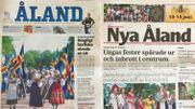 """L'archipel à ses propres médias, en langue suédoise. Deux journaux: """"Aland"""" et """"Nya Aland"""". Et une station de radio """"Radio Aland"""""""