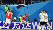 La Russie aux portes des 1/8es après avoir balayé l'Égypte de Salah