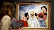 """Le Salon Bourgeois"" de James Ensor vendu 440.000 euros"