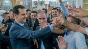 Syrie: rare apparition du président Assad hors de Damas pour l'Aïd