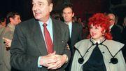 Jacques Chirac lors de sa campagne de 1995