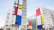 """La ville de La Haye dévoile la """"plus grande peinture de Mondrian de tous les temps"""""""