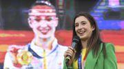 JO 2020 : Nina Derwael mise à l'honneur dans sa ville de Saint-Trond