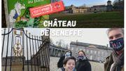 Le Château de Seneffe se visite aussi à l'aide d'un smartphone !