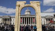 L'Arc de Triomphe de Palmyre renaît à Trafalgar Square à Londres