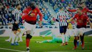 Lukaku buteur pour sa 1ère touche de balle, la passe de 4 pour Solskjaer