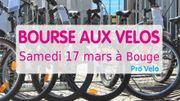 Bourses aux vélos proposées par Pro Velo.
