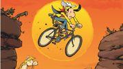 """Lucky Luke se recycle ou """"L'homme qui pédalait plus vite que son ombre"""""""