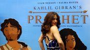 """Salma Hayek lance le film """"Le Prophète"""" au Liban, son pays d'origine"""