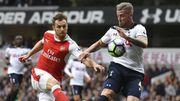 Vainqueurs face à Arsenal, les Belgian Spurs restent à 4 points de Chelsea