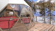 Un incroyable éco-hôtel bientôt inauguré dans la station des Orres