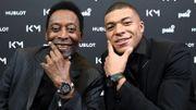 """Mbappé : """"Je sais très bien que je ne ferai jamais ce que Pelé a fait"""""""