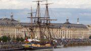 Bordeaux, port éphémère de bateaux historiques