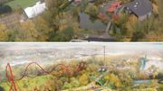 Voici à quoi devrait ressembler la nouvelle zone de Walibi, elle ouvrira en 2021 sur un terrain de 4,5 hectares situé au fond du parc.