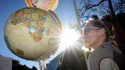 Manifestation pour le climat à Los Angeles, région particulièrement impliquée dans la lutte contre les gaz à effet de serre.