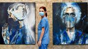 Habay : Une artiste-peintre et infirmière au Luxembourg rend hommage à NOS héros !