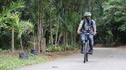 """""""Ne regardez pas le vélo, mais regardez la destination du vélo"""", dixit Andy Costa."""