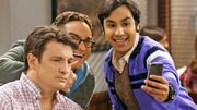 "Nathan Fillion dans ""The Big Bang Theory"""
