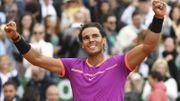 """Nadal : """"Heureux d'être compétitif et en bonne santé"""""""