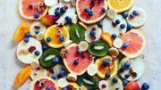 Recette de Candice : salade de fruits au gingembre et au Péket