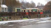 """Le départ du petit train du village, """"inconcevable pour le centre de Han"""" pour certains riverains."""