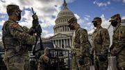 """La crainte de l'""""Insider threat"""": les soldats de la Garde nationale présents à Washington sous la loupe du FBI"""