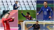 Messi roi d'Europe, Lewandowski et Jorginho ses dauphins, Cristiano Ronaldo sur le trône en Italie