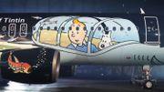 Brussels Airlines et Moulinsart dévoilent un avion aux couleurs de Tintin