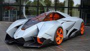 La Lamborghini Egoista fait son entrée au musée