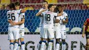 Le FC Bruges bat Malines (0-3), cinquième clean-sheet consécutive et un De Ketelaere rayonnant