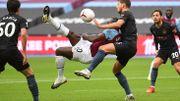 Premier League: Manchester City partage pour le retour de De Bruyne, Antonio plante une jolie bicyclette