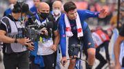 """Filippo Ganna prive les Belges du titre à domicile sur les Mondiaux de contre-la-montre : """"Désolé, je rêvais de gagner"""""""