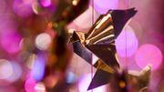Les origamis de Charles Kaisin s'exportent à Paris