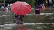 Les précipitations seraient causées par l'activité humaine, selon une étude