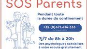 La ligne téléphonique SOS Parents