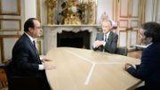 François Hollande sur TF1 et France 2