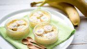 Recette : crème de banane parfumée au rhum