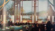 Débats au Conseil de la Société des Nations à Genève en juin 1921, avec la Suède et la Finlande