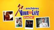 Les Enchères de Viva for Life, c'est reparti!