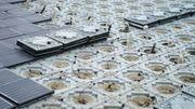 Le tout premier trottoir solaire d'Espagne voit le jour à Barcelone
