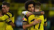 Dortmund et Witsel finissent l'année en beauté face au Mönchengladbach de Thorgan Hazard