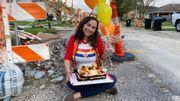 États-Unis: une femme fête l'anniversaire… des travaux interminables de sa rue