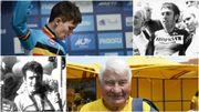 Bjorg Lambrecht, Patrick Sercu, Felice Gimondi et Raymond Poulidor