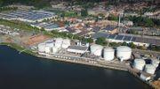 Les stocks de carburant de l'entreprise Lukoil, sont à deux cents mètres des habitations