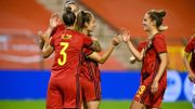 Red Flames: La Belgique se balade face à l'Albanie, triplé de Blom (7-0)