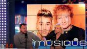 Justin Bieber et Ed Sheeran : le duo qui cartonne!