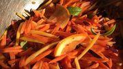 Des carottes en mode lacto-fermentation! On remplit les placards?