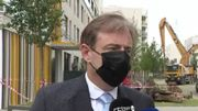 """Effondrement à Anvers: """"C'est une catastrophe inimaginable"""" déclare Bart De Wever"""